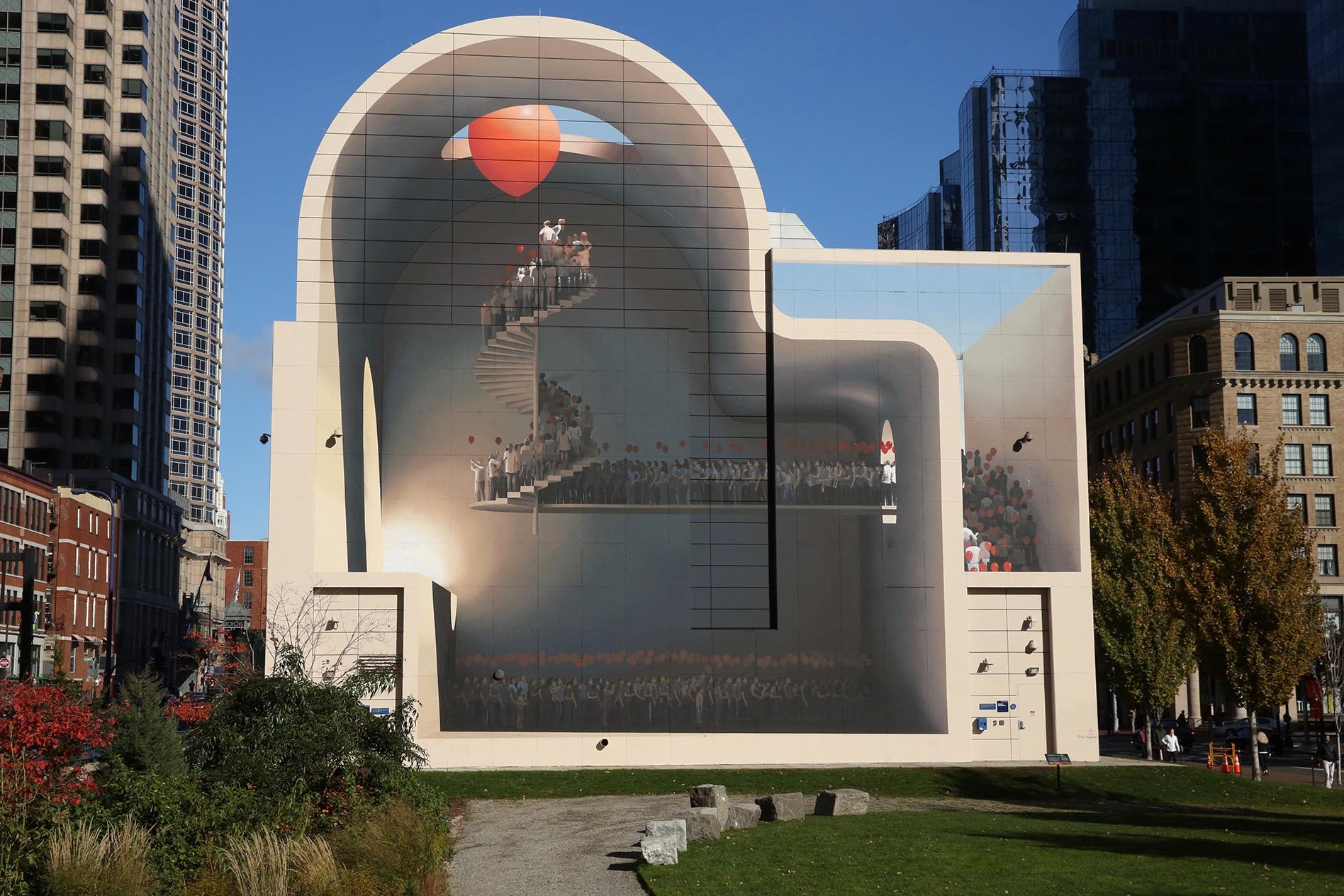 Spaces of hope by mehdi ghadyanloo at rose kennedy greenway