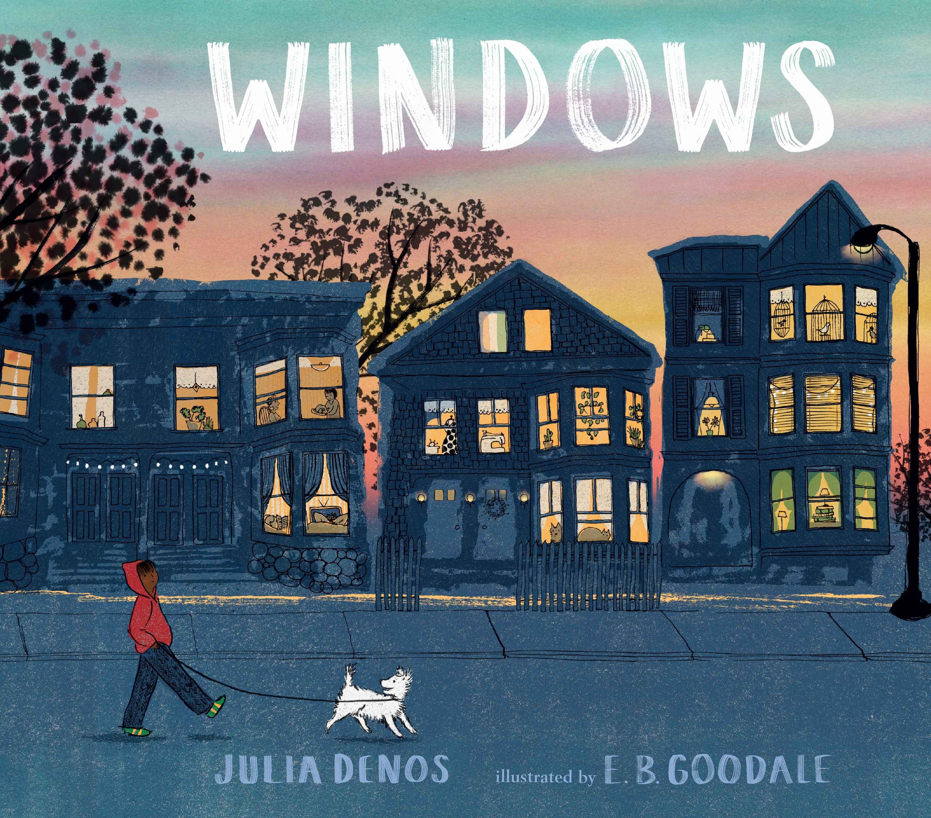 Windows by Julia Denos Book Front Cover