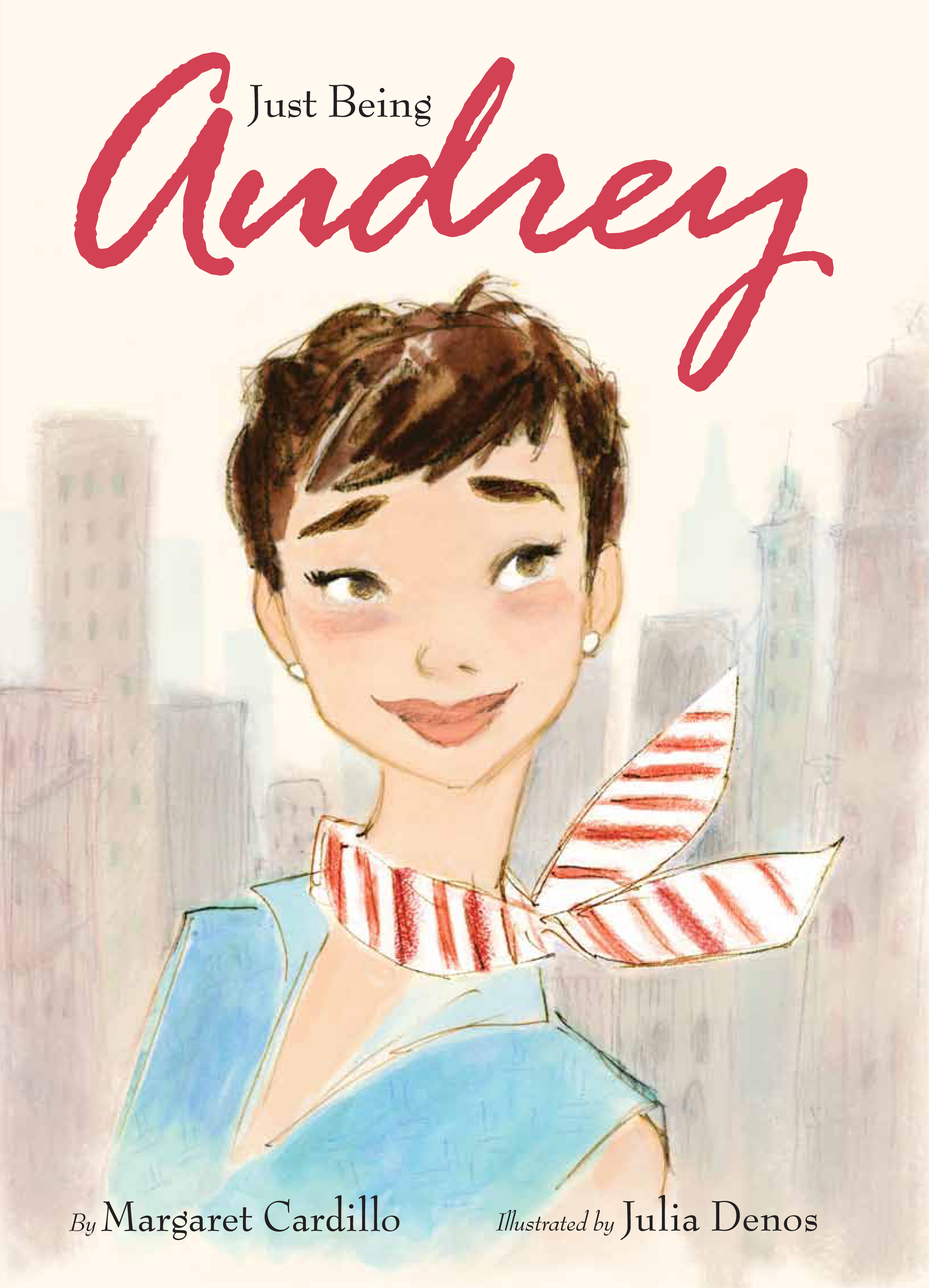 Just Being Audrey Book Front Cover