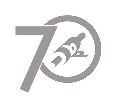 boston printmakers 70th anniversary logo