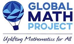Logo for the Global Math Project