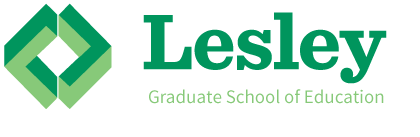 Lesley logo altered - example of what not to do