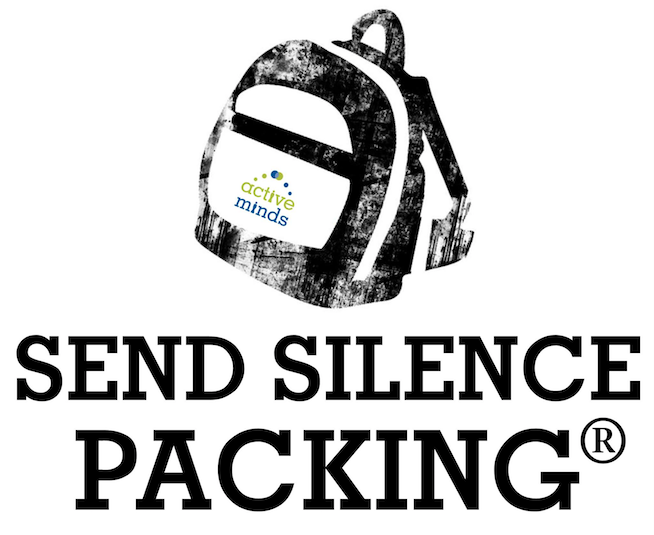 Backpack drawing for Send Silence Packing event