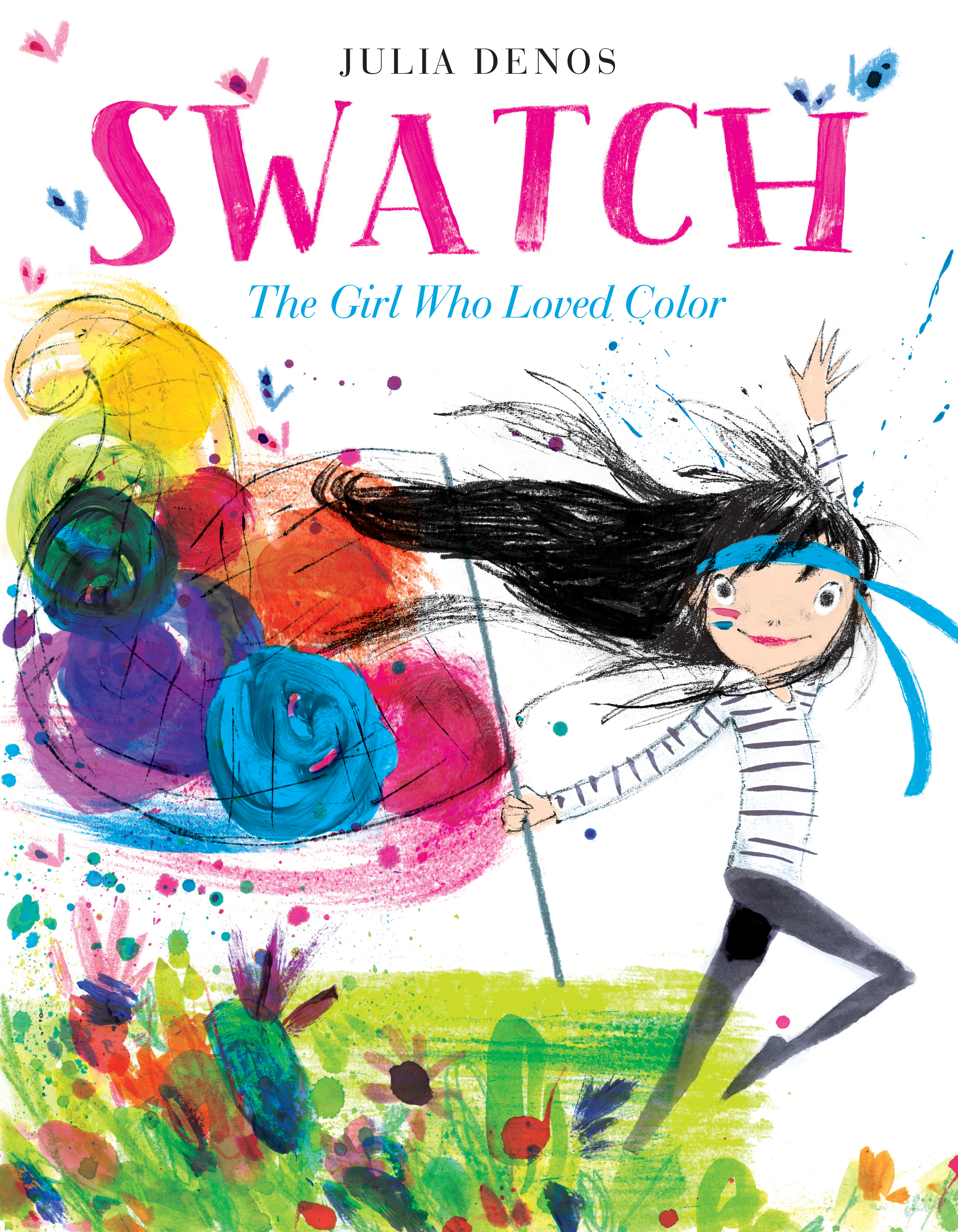 Swatch The Girl who Loved Color Book Cover