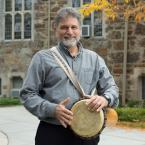 faculty mitchell kossack with drum