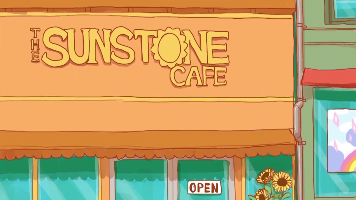 scene from the Sunstone Cafe