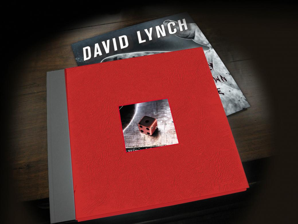 David Lynch vinyl record and sleeve
