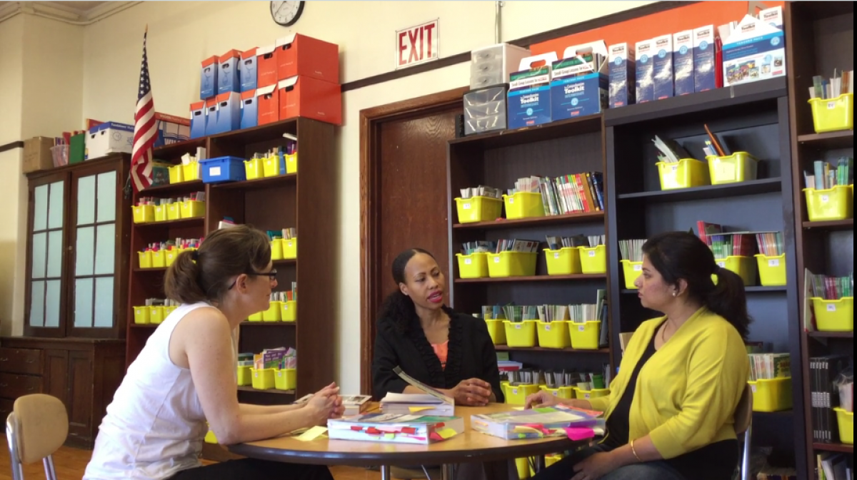 3 Educators from the Channing Elementary School in Boston talk about Literacy Collaborative