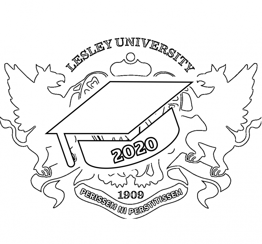 Virtual-line-drawing-of-cap-over-Lesley-crest-lesley2020