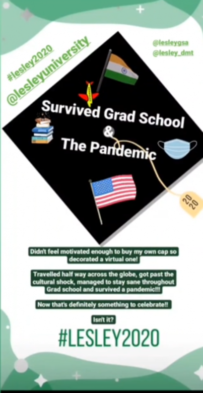 cap-decorations-survived-grad-school-and-pandemic-Lesley2020