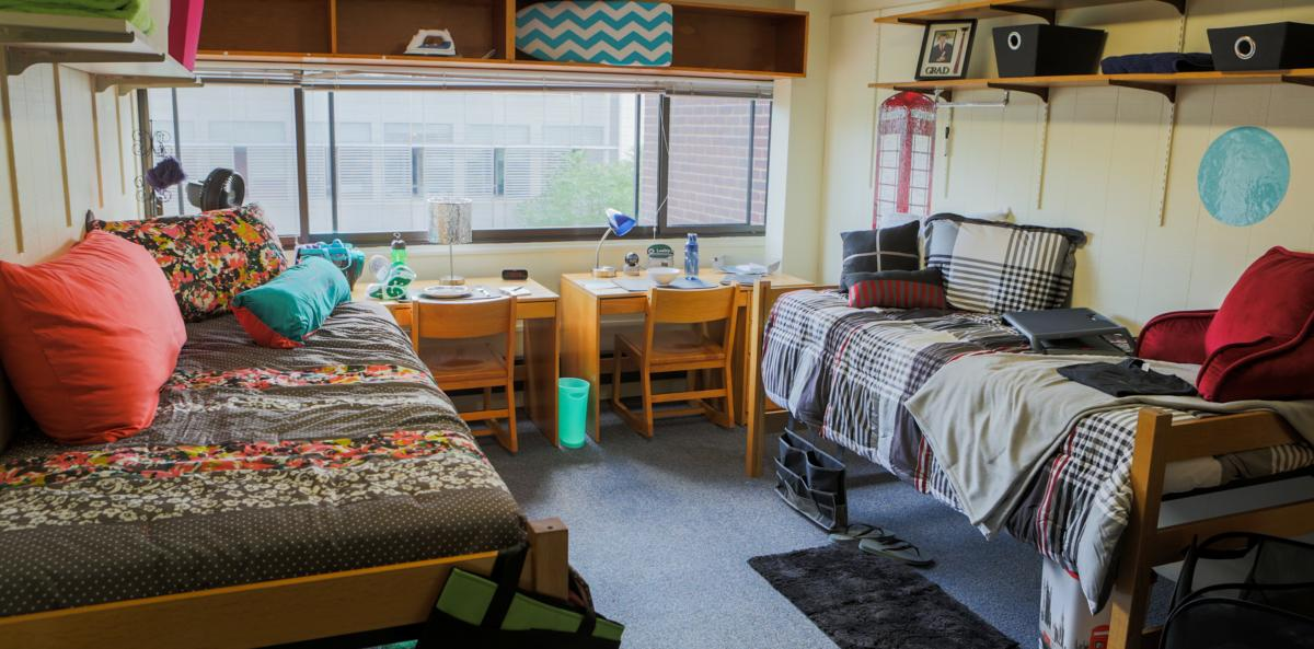 Malloch Hall dorm room