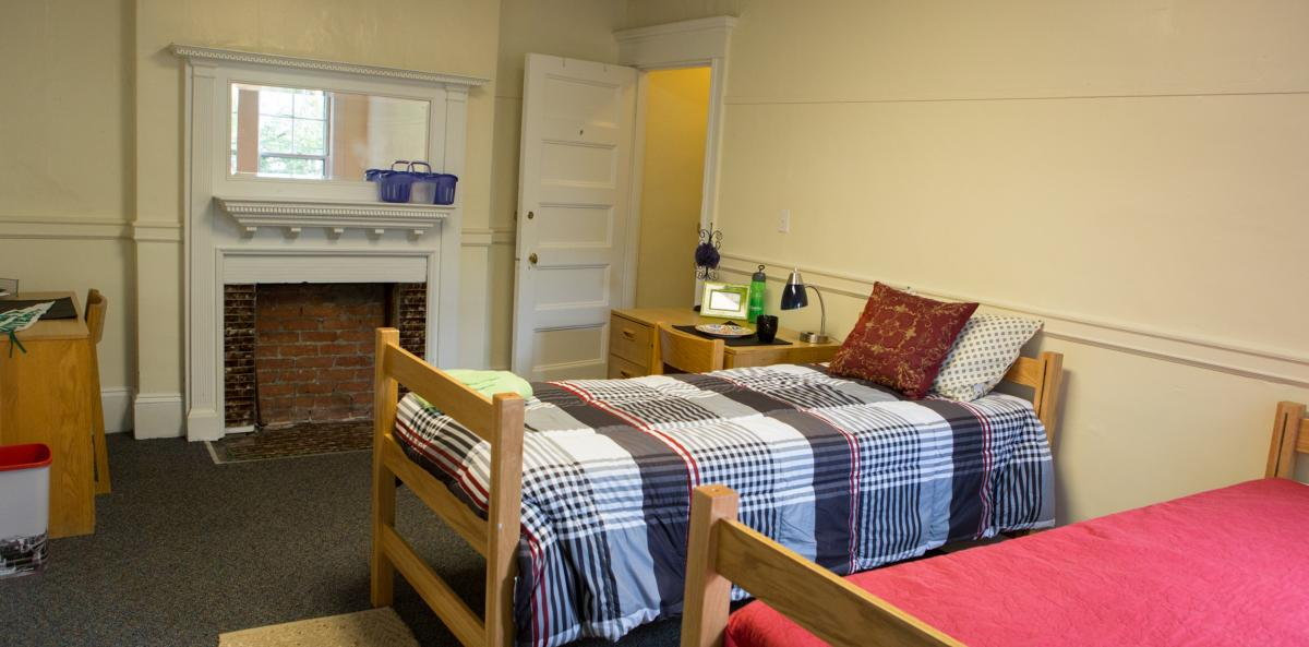 Sacramento Hall dorm room