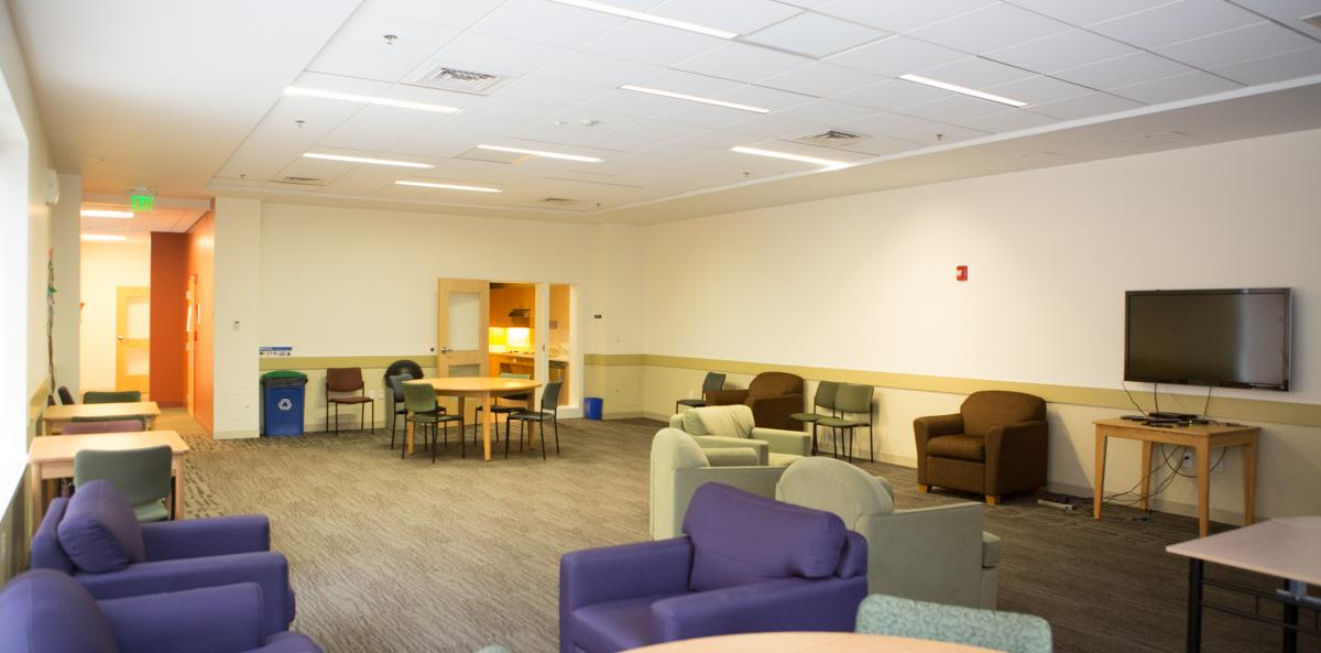 Wendell Suites common area