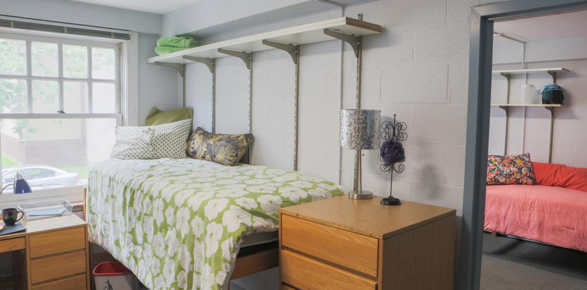 White Hall dorm room
