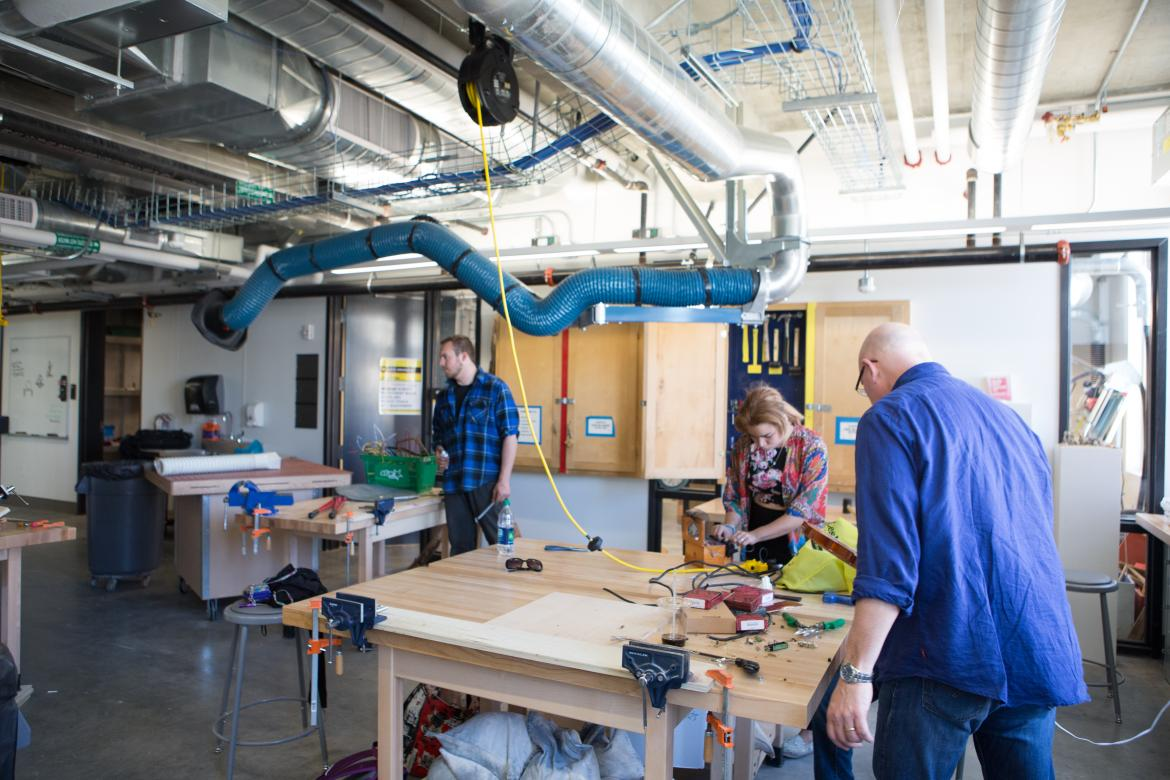 Lunder Arts Center Woodworking Studio