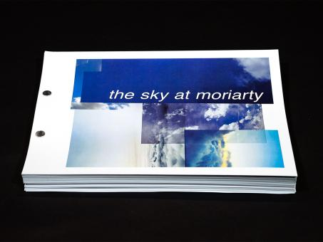 picture of sky at moriarty front cover