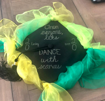 cap-decorations-dance-with-scarves-Lesley2020