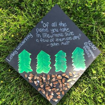 Cap-decorations-with-a-John-Muir-quote-Lesley2020