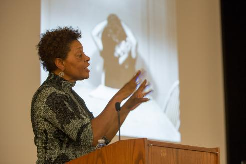 Carrie-Mae-Weems speaking