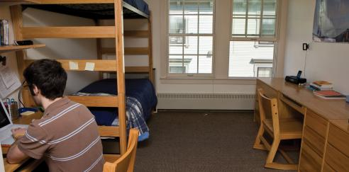 Wendell House dorm room