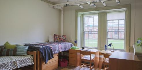 Winthrop Hall dorm room