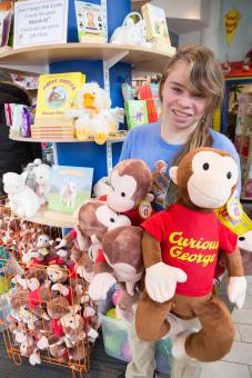 Internship at The Curious George Shop in Harvard Square