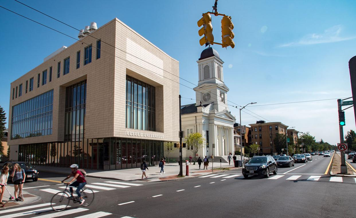 Lunder Arts Center on Massachusetts Avenue in Cambridge