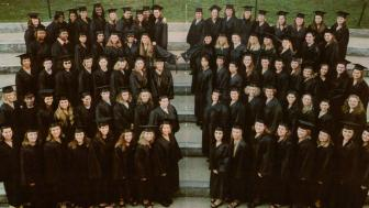 2001 graduation group photo