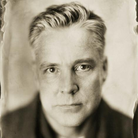 headshot of david hilliard using tintype process