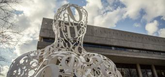 """Alchemist"" by Spanish artist Jaume Plensa"