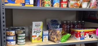 Commuter Pantry Shelf of Food