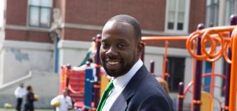 Craig Martin, principal of the Michael J. Perkins School in South Boston.