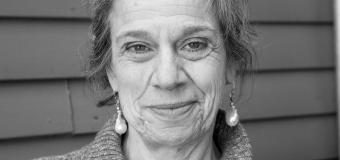 Susan Goodman head shot in black and white