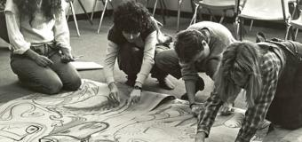expressive arts students from the 1970s