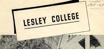 historic Lesley College symbol