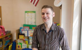 Andy Mellen studied Special Education: Severe Disabilities at Lesley University.