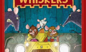 "Cover of Gigi Brush Priebe's children's book, ""Henry Whiskers"""