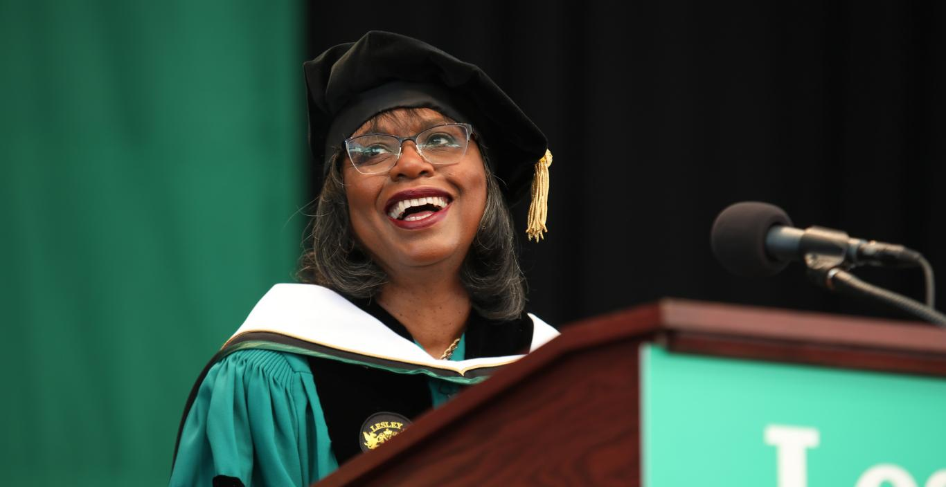 Anita Hill speaks at Commencement 2019