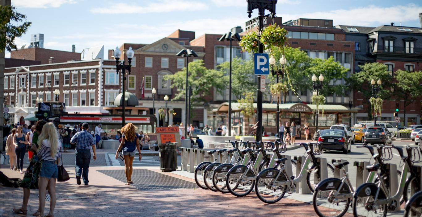 Harvard Square, Cambridge