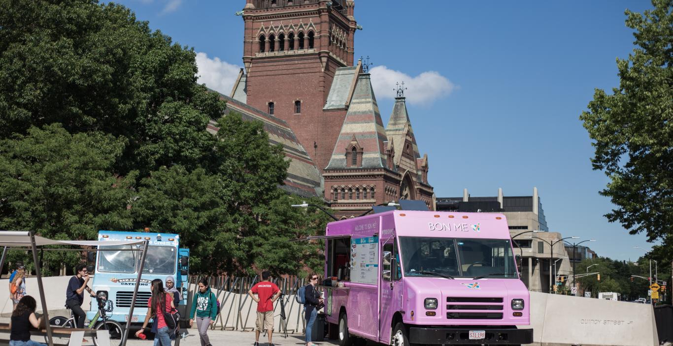 Food Trucks Harvard Square