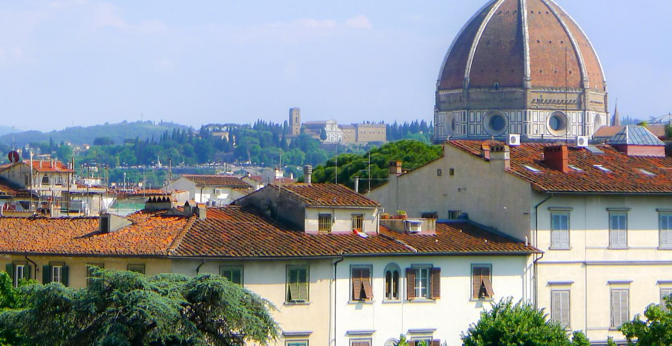 Scenic view of the Duomo in Florence, Italy