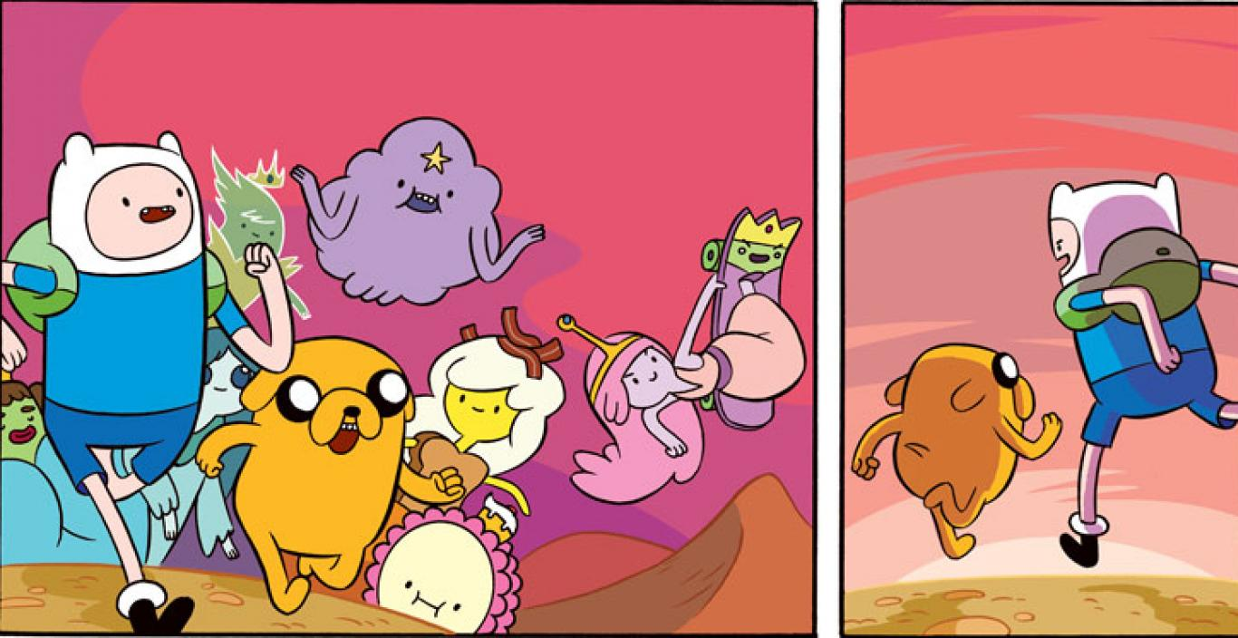 Adventure Time cartoon characters