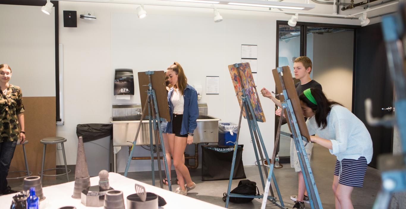 Lunder Arts Center Drawing Studio