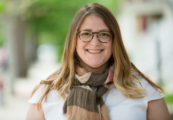 Headshot of undergraduate counselor Melissa Essman