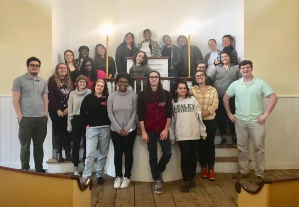 Students Visit Museum of African American History